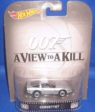 MATTEL HOT WHEELS HOLLYWOOD MOVIE & TV SHOWS COLLECTIBLES 007 A VIEW TO A KILL