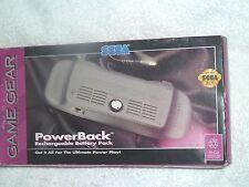 Sega Game Gear PowerBack battery pack rechargeable Model 2142 Power Back
