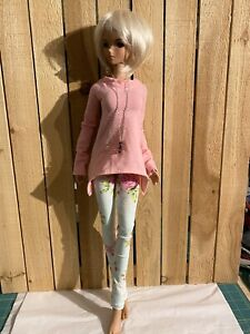 Angled In Pink 1/3 Scale Smart Doll 60 Cm BJD Fashion Clothes Outfit