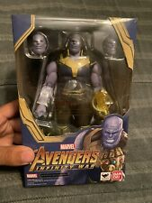 Avengers: Infinity War Thanos SH Figuarts Action Figure 100% COMPLETE US SELLER