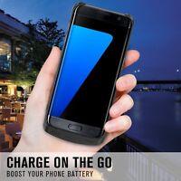 COQUE À BATTERIE Chargeur Banque DE SECOURS INTÉGRÉE Pour Samsung Galaxy S7 Edge