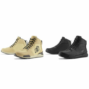 2021 Icon Tarmac Waterproof Motorcycle Riding Shoes - Pick Size/Color
