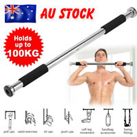 Portable Pullup Bar Chin Up Bar Gymnastics Doorway Home Fitness Exercise Workout