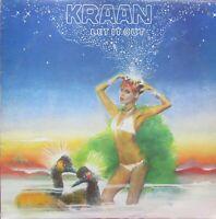 KRAAN LET IT OUT LP Gull GULP 1013 1975 Excellent