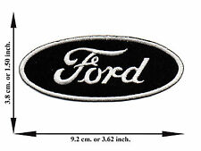 Ford Car Automobile Racing V03 Logo Applique Iron on Patch Sew For T-shirt Hat