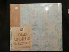 "DCWV Old World 12""x12"" Top Loading Scrapbooking Album - NEW"