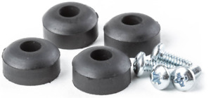 4 Pk Dunlop ECB151 Rubber Feet & Screws for Crybaby Wah Pedal Authorized Dealer