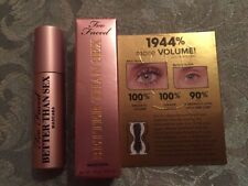 TOO FACED BETTER THAN SEX MINI TRAVEL MASCARA BLACK .13 OZ NEW IN BOX