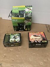 EXO TERRA Reptile Hsng On Filter, Mealworm Feeder, Fog Generator
