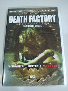 Death Factory Terror - DVD Español Ingles Region 2