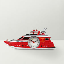 Cute Ship Shaped Desktop Alarm Clock for Kids, Living room and Home Decor-Random