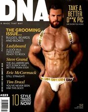 DNA Magazine #223 gay men Grooming Issue TIM DRAXL NIKO JAMES KINDLE MITCHELL