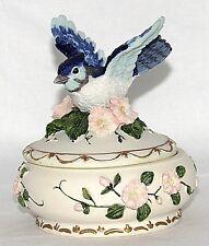 Blue Jay Bird Music Box Let Me Call You Sweetheart Songbird Treasures Heritage
