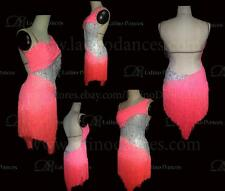 LATINO/SALSA/CHA-CHA-CHA DANCE DRESS  COMPETITION  WITH HIGH QUALITY STONE M427