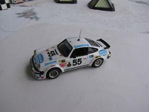 Porsche 934 n°50 (Escuderia Montjuich) - Le Mans 1977 - Solido modifiée 1/43 ème
