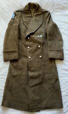manteau capote militaire officier 3e cavalerie blindée WW2 Indochine algérie