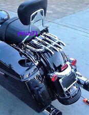 Detachable Backrest Sissy Bar For Harley Touring Street Glide Road Glide 09-18