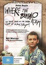 Where The Buffalo Roam Bill Murray Region 4 DVD VGC