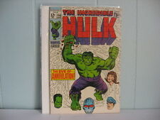 Silver Comic  THE INCREDIBLE HULK   #116  1969    COM6