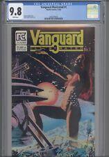Vanguard Illustrated #1 CGC 9.8 1983 Pacific Stevens Naked Cover Girl: New Frame