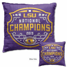 LSU Tigers 2019 Football National Champs Couch Pillow