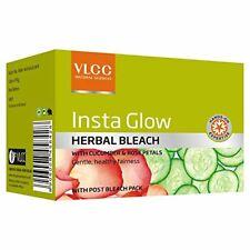 VLCC Insta Glow Herbal Bleach Cream 54 gm Pack Free Ship