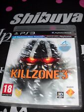 PS3 Game Killzone 3 used