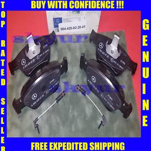For 2006-2007 Mercedes C280 Brake Pad Set Rear Centric 64234YR