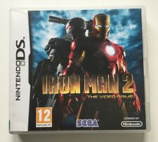 Marvel Iron Man 2 Nintendo DS Games Cartridge, Boxed, Instructions VGC 12yr+