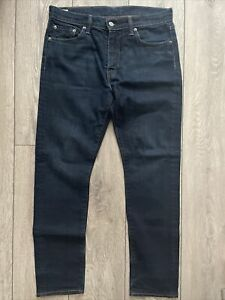 LEVI'S LEVI STRAUSS 508 REGULAR TAPER JEANS 30W x 30L DARK NAVY BLUE