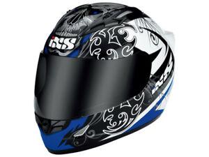 iXS Integral Helmet Hx 408 Dreamrider Schwarz-Blau-Weiß Motorcycle From Tri