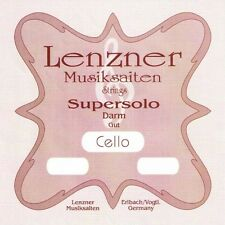 Lenzner 1220D SUPERSOLO 4/4 Violoncello DARM Saiten SATZ, Cello GUT Strings SET