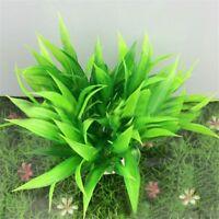 Neu Schön Künstlich Pflanze Kunstpflanze Aquarium Dekoration Wasserpflanze H8C0