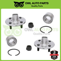 2 Front Wheel Bearing & Hub Left or Right For Saturn SC SL SW 4 Lug 1.9L 518514