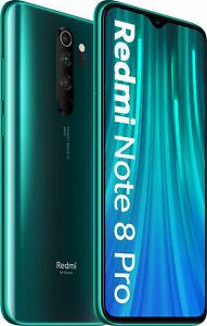 Xiaomi Redmi Note 8 Pro 6GB RAM 128GB Speicher Forest Green 6,53 Zoll 64 MP 2SIM