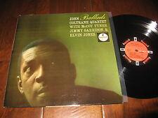 John Coltrane Record Ballads McCoy Tyner Elvin Jones Impulse Jazz Orig A-32 NM