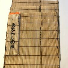 Bamboo Sushi Rolling Mat Set Of 6 New