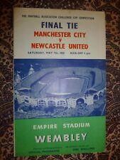 1955 FA Cup Final-Manchester City V Newcastle United (ORIGINALE)