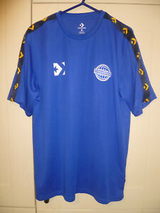 "CONVERSE - ORIGINAL ROYAL BLUE ""SPORTS 08"" T-SHIRT (M)"