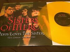 Sisters Of Mercy ‎– Jesus Loves The Sisters RARE YELLOW VINYL LP