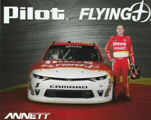 2018 Michael Annett #5 Pilot Flying J  NASCAR Xfinity POSTCARD
