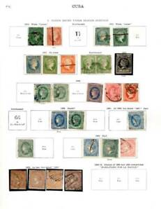 Spanish Antilles. 1853-1940. A collection of MH/U stamps on SG/Scott pages.