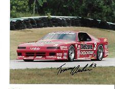 Autographed Tommy Archer Trans-AM Auto Racing Photograph
