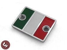 Billet Italia Italy Flag Disc Cap Brake Master Cylinder Cover fits Vespa PX/LML