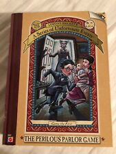 Lemony Snicket's Series of Unfortunate Events Perilous Parlor Board Game Pewter