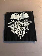 [9091 - PA1] Patch tissus pour t-shirt - coton - Punk- Punshed earth