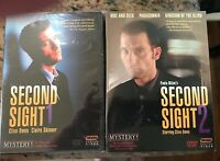 Second Sight Series 1 & 2 DVD 4-Disc Set Brand New Sealed Clive Owen Ross Turner