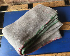More details for vintage 1940's original ww2 arp wool army blanket home front