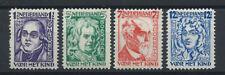Pays-Bas N°215/18* (MH) 1928 - Savants célèbres