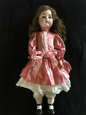 """24"""" Beautiful Antique Girl Child K&R Simon &Halbig Mold 62 Jointed Body Doll"""